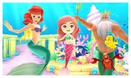 Ariel with his Friends and Mii Photos
