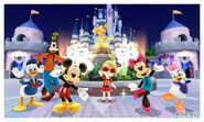 Mickey with the Gang and Mii Photos