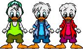 QuackPack HueyDeweyLouie RichB