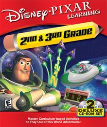 Buzz Lightyear's 2nd & 3rd Grade Learning for PC