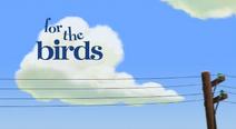 For The Birds Logo