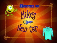 Mike's New Car Logo