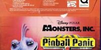 Monsters Inc: Pinball Panic