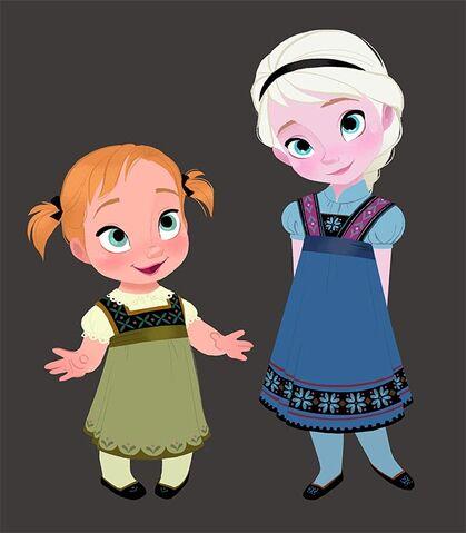 File:Little Anna & Elsa.jpg