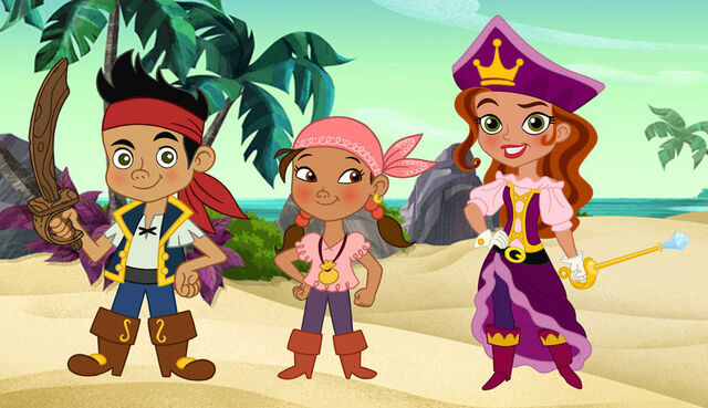 File:The Pirate Princess with Jake and his crew.jpg