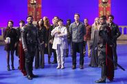 Once Upon a Time - 5x02 - Behind the Scenes - Main Cast