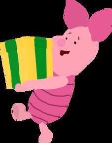 Piglet birthday present toystoryfan artwork