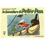 Peter pan italian poster