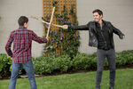 Once Upon a Time - 6x03 - The Other Shoe - Photography - Henry and Hook Swordfight