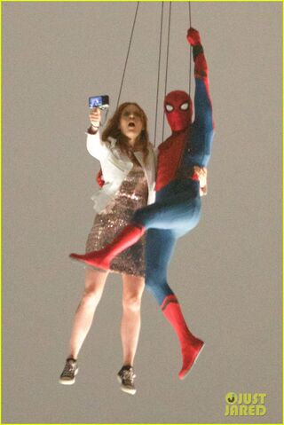 File:Spider-Man: Homecoming On-Set.jpg