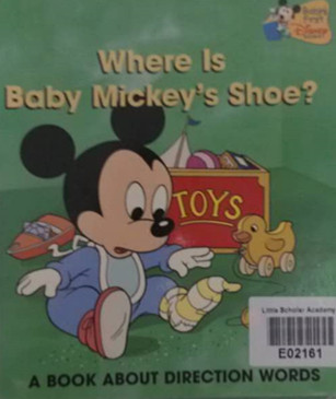 File:Baby mickey's shoe.jpg