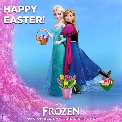 File:Anna and Elsa Happy Easter Poster.jpg
