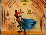 Cinderella - Dancing on a Cloud Deleted Storyboard - 24