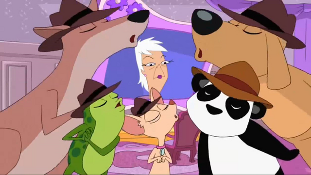 File:Agent D, Peter the Panda, Agent Kangroo, Agent Pinky and Agent F.png