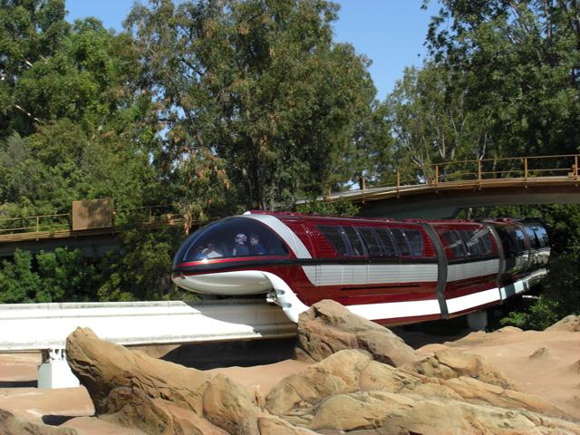 File:Disneyland Mark VII Monorail Red.jpg