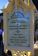 Jolly Holiday Bakery Cafe Outdoor Menu