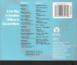 Silly classical songs back cover