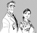 Abigail and Robert Concept Art