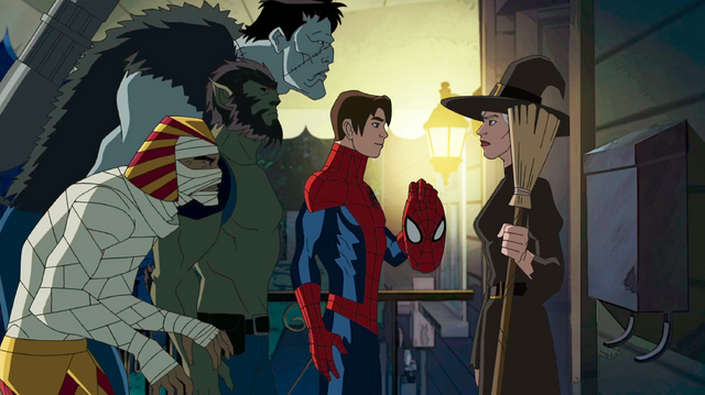 File:The Howling Commandos & Spider-Man USM 1.png
