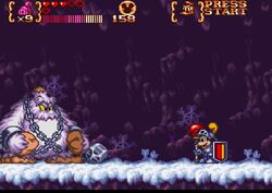 Magical Quest 3 - boss 6