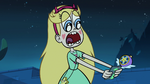 Star gasping at Marco's phone