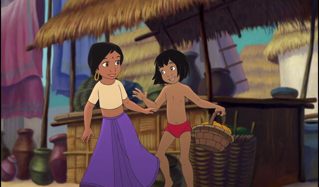 File:Mowgli is showing Shanti he's haveing fun.jpg