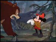Mickey and bear