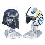 Kylo Ren And Poe Dameron Helmets Black Series