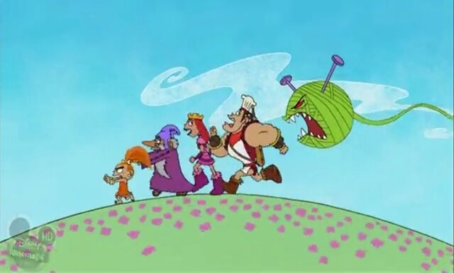 File:Barbarians chased by ball of yarn monster.jpg