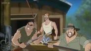 Poacher and his men