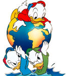 Huey-dewey-louie-duck-earth