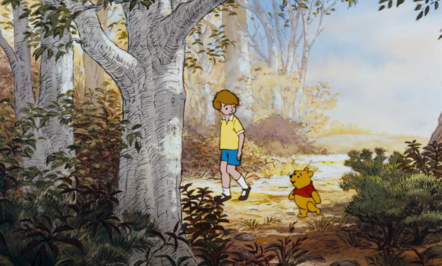 File:Christopher Robin and Pooh Bear are both walking along the path.jpg