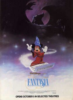 Fantasia 1990 Re-Release Poster