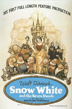 Snow white and the seven dwarfs poster