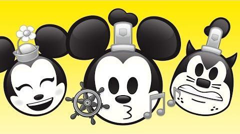 Steamboat Willie As Told By Emoji Disney