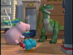 Rex in danger