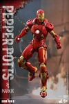 Iron Man Mark IX and Pepper Hot Toys 13