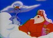 Zeus and hermes