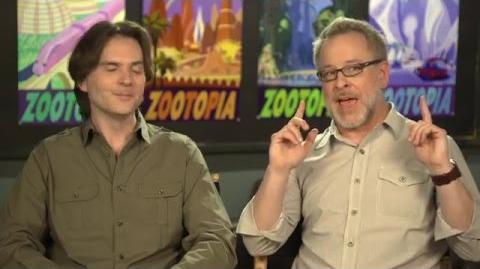 Zootopia Zootropolis Directors Behind The Scenes Interview - Byron Howard & Rich Moore