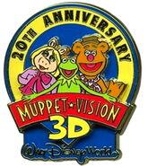 20th anniversary wdw pin