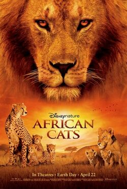 African Cats Poster