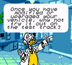 Ludwig Mickey's Racing Adventure Dialogue 3