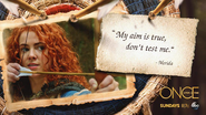 Once Upon a Time - 5x01 - The Dark Swan - My Aim Is True Dont Test Me - Merida