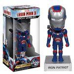 Iron Man 3 Movie Iron Patriot 7-Inch Bobble Head