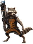 Rocket Cutout Render