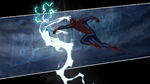 Spider-Man punches Electro USMWW