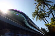 Dlp monorail blue