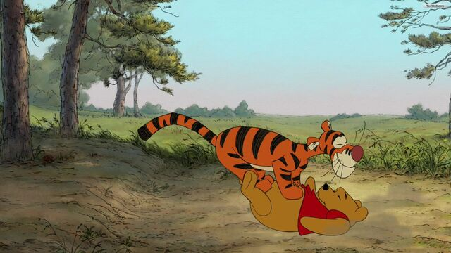 File:Winnie the Pooh and Tigger wallpaper.jpg