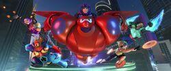 Big hero 6 finale