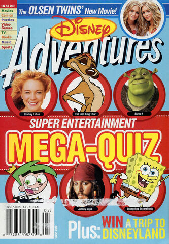 File:Disney Adventures Magazine cover May 2004 Mega Quiz.jpg